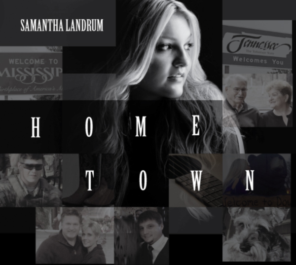 Samantha Landrum - Home Town CD Cover