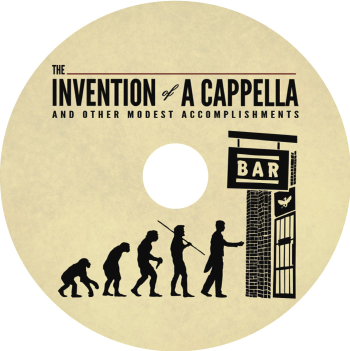 The Invention of A Capella - Whiffenpoofs CD Label