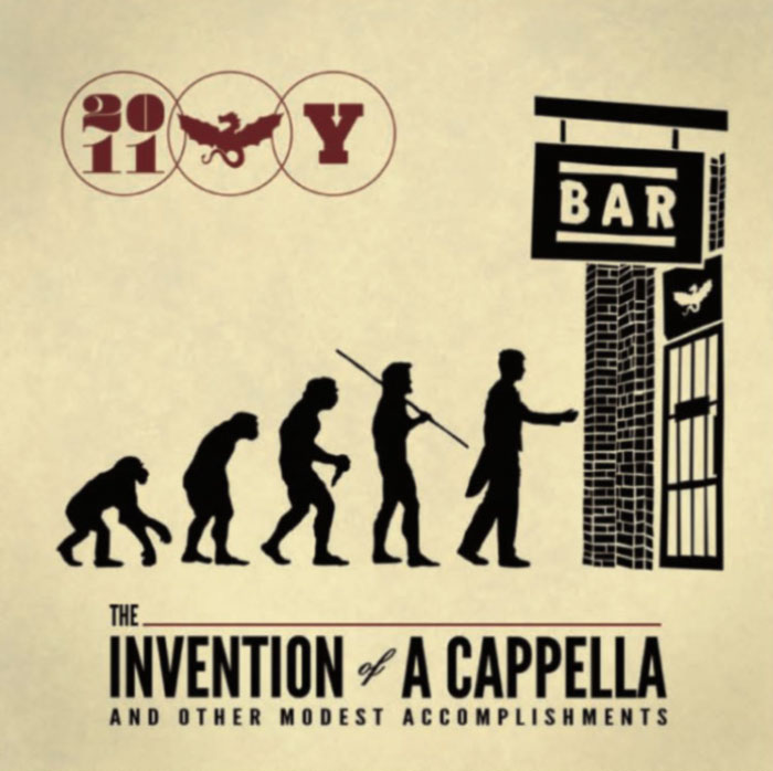 The Invention of A Capella - Whiffenpoofs CD Insert