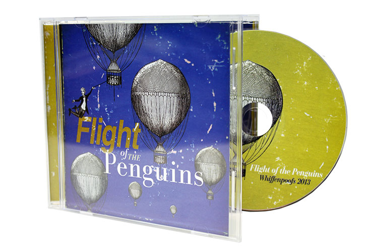 The Yale Whiffenpoofs - Flight of the Penguins  - Jewel Case, Booklet & CD