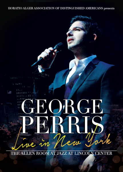 George Perris - Live in New York - DVD Cover