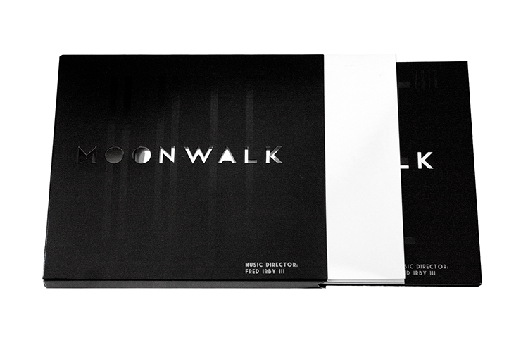 Moonwalk - CD Packaging  & Booklet