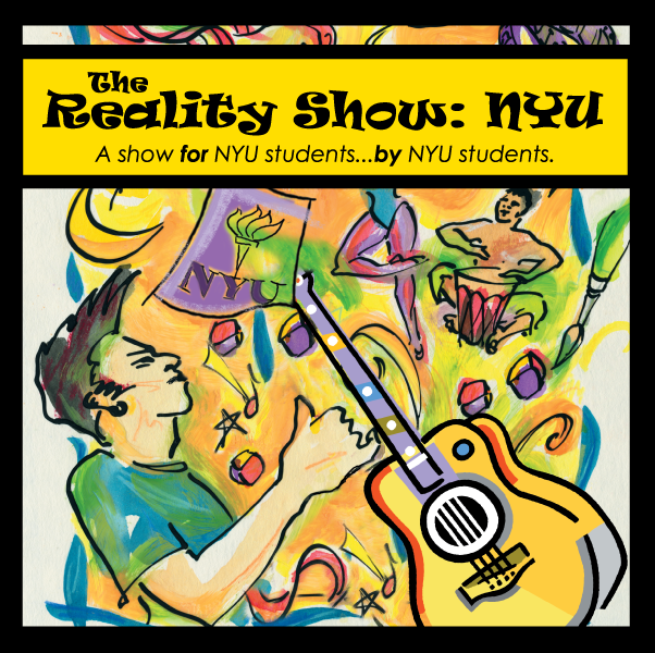 NYU - The Reality Show - 4 panel Insert (Cover)