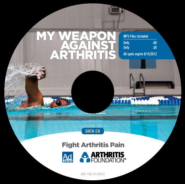 Arthiritis Foundation - CD Label