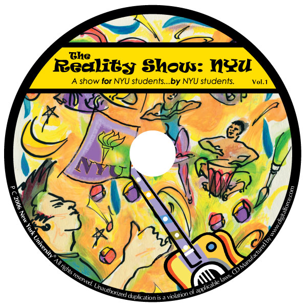 NYU - The Reality Show - Label